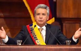 "The Declaration also expresses support ""for the democratic regime in Ecuador, its legitimately constituted government and its President Lenín Moreno Garcés."