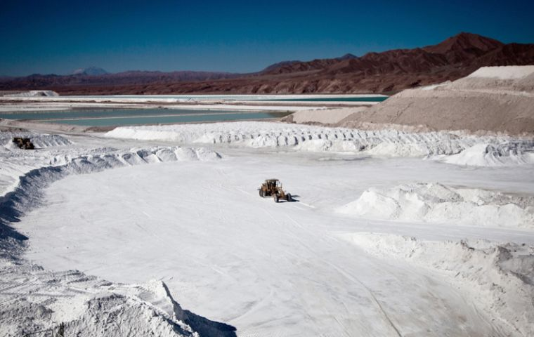 Under a deal struck with Wealth, the Russian nuclear firm has the option to purchase up to a 51% stake in Wealth's Atacama project in northern Chile
