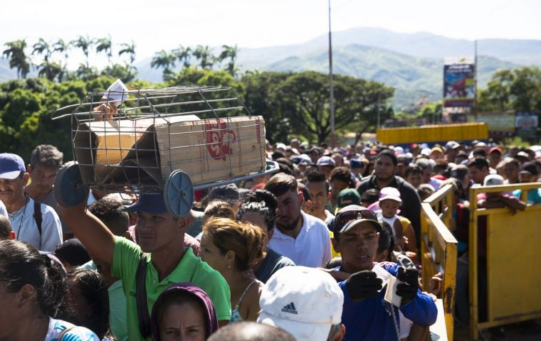 Some 4.5 million refugees and migrants have fled Venezuela since 2015, according to official figures, but more are using illegal crossing points