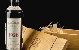 "Sotheby's described The Macallan 1926 from cask number 263 as the ""holy grail"" of whisky."