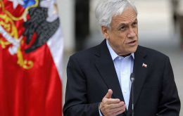 "This measure comes a day after Piñera said he'd ""asked all ministers to resign in order to form a new government."""
