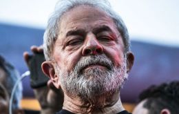 Sunday was Lula's 74th birthday and Fernandez remembered he was unfairly jailed in Brazil