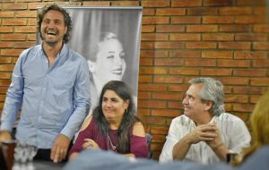 As to some cabinet names, Santiago Cafiero (left), from a traditional political family in Argentina and close aide of Fernandez is expected to become cabinet chief