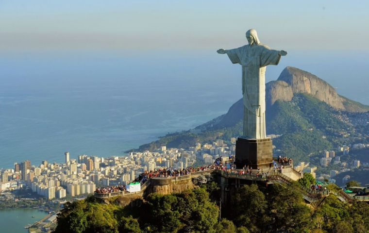 Ministry of Tourism data says some 6.6 million foreigners visited Brazil in 2018: from South America (61.2%), Europe (22.1%) and North America (10.4%)