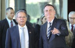 Alongside Economy Minister Paulo Guedes, Bolsonaro handed in constitutional amendments that will also, if passed, decentralize budget resources