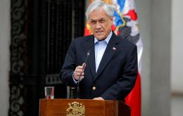 "Piñera said he was ""democratically elected by a huge majority of Chileans,"" and even accepting responsibility for entrenched, he was not ""the only one."""