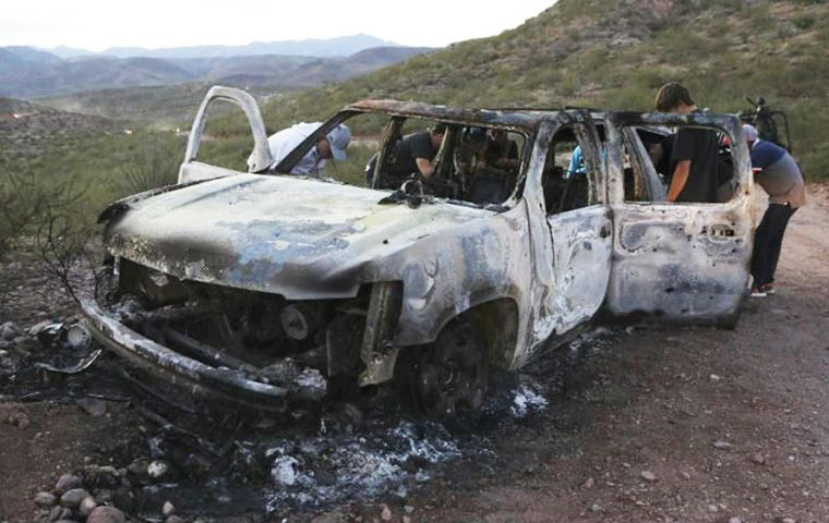 Gunmen ambushed the members of the LeBaron family as they travelled on a rural road in a lawless region between the border states of Sonora and Chihuahua.
