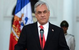 """We have been totally transparent about the (police) figures because we have nothing to hide,"" President Sebastian Piñera said in a speech on Wednesday."