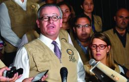 """Violence has no place in democracy,"" said the OAS release"