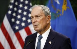 Bloomberg's name was posted among 17 candidates on the Alabama Democratic Party's website only hours before registration closed.
