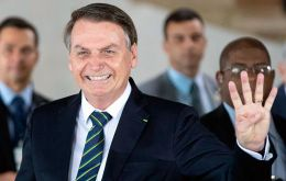 """I won't enter into this trade war,"" Bolsonaro said. ""We want the best for our people through this kind of relationship."""