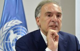 "Mr. Guterres has appointed Jean Arnault to engage as his Personal Envoy ""with all Bolivian actors"""