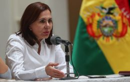 Karen Longaric, the interim foreign minister said Bolivia is leaving the Union of South American Nations, known by its Spanish acronym UNASUR