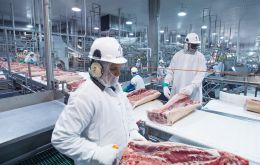 Chinese imports of Brazilian meat are up 23.6% for January to October against the same period in 2018, meatpackers association Abrafrigo says.