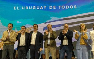 Lacalle and the muticolor coalition will take power on March 1st, 2020. (Image: Sebastián Astorga)