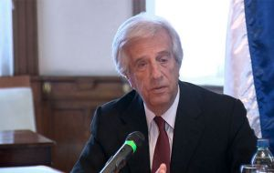 President Tabare Vazquez has invited Lacalle Pou to Government House next Monday