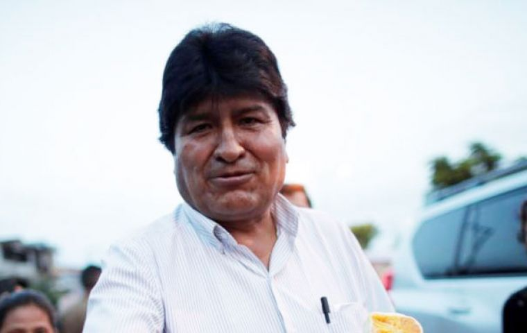 Evo Morales is reportedly in Cuba, planning his move to Argentina.