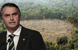 "Blaming wealthy countries, Bolsonaro said, ""I'd like to know: has there been a resolution for Europe to be reforested, or are they just going to keep bothering Brazil?"""