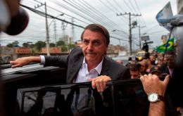 """I never imagined that I'd be president. No one gave us victory, but I think it was God's will. He saved my life first, then he gave me that mandate,"" Bolsonaro said"