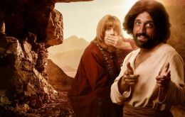 """The First Temptation of Christ"" was created by Brazilian YouTube comedy group Porta dos Fundos"