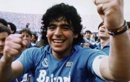 Maradona arrived from Barcelona to Naples and he was to stay seven years, captaining the team to their first-ever Serie A title in 1986-87.