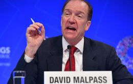 """The size, speed and breadth of the latest debt wave should concern us all,"" World Bank President David Malpass said in a statement."