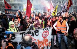 The strike against pension reforms championed by President Emmanuel Macron began on Dec 5 and has seen most of the Paris metro shut down ever since