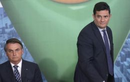 Moro became justice minister in the government of Jair Bolsonaro, a move into politics, which could set him up for a run at the presidency.