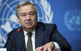"""This year, my New Year's message is to the greatest source of that hope: the world's young people,"" Guterres said."