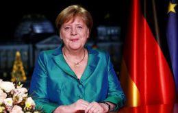 """It will be our children and grandchildren who have to live with the consequences of what we do or refrain from doing today"" Merkel said (Pic Reuters)"