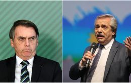 Brazil and Argentina have a strong trade in several areas, and hopefully the export taxes announced by Fernandez won't affect Brazil, Bolsonaro said.