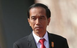 "In an unusually strong statement, President Joko Widodo told reporters: ""There is no negotiation when it comes to our sovereignty."""