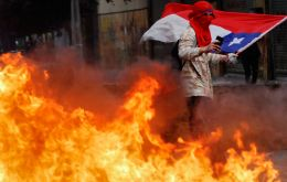 Protests have rocked Chile for two months, leaving 26 dead and causing billions of dollars in losses for private businesses and public infrastructure. (Reuters)
