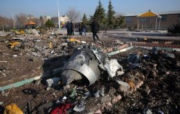 The Ukraine International Airline jet crashed shortly after takeoff from Teheran, killing all 176 people on board.