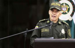 """A terrorist attack which sought to kill Rodrigo Londoño Echeverri, president of the Farc political party, was prevented"" head of police General Atehortua said"
