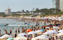 Summer season in Uruguay with a massive influx of Argentines lasts at the most from mid December to March, so the 180-day announcement does not seem serious