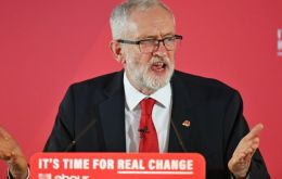 Corbyn announced his resignation after the Dec 12 election, which unleashed a fierce internal debate about Labor's direction and leadership campaign.