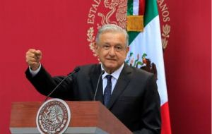 """Luxury planes have nothing to do with the reality of poverty that exists in our country,"" Lopez Obrador said at his daily news conference"