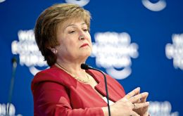 """We have had very constructive interactions so far with the new leadership in Argentina,"" Georgieva said at an event in Washington"