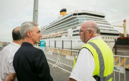 According to minister Meoni some 598 calls of cruise vessels are expected this 2019/20 season in the port of Buenos Aires