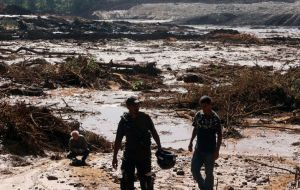 The Brumadinho disaster sent a deluge of mud down a mountainside, burying people nearby.
