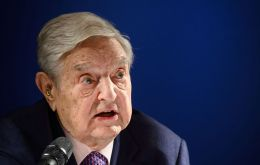 At the WEF in Davos, Soros said humanity was at a turning point and the coming years would determine the fate of rulers like president Trump and China's Xi