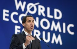 """The first thing to do is to stop the illegal traffic of gold. We need to protect indigenous population. It is blood gold,"" Guaido said at Davos"