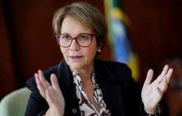 """We would like to urge India to lower its tariffs on chicken and chicken products which are far too steep,"" Brazilian Agriculture Minister Tereza Cristina Dias said"