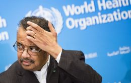 Tedros Adhanom Ghebreyesus, WHO director-general, praised China's response in a news conference in Geneva