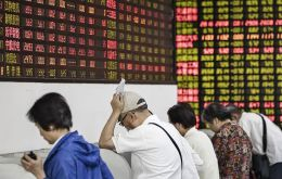 A nearly 8% plunge on the Shanghai composite index was its biggest daily fall in more than four years