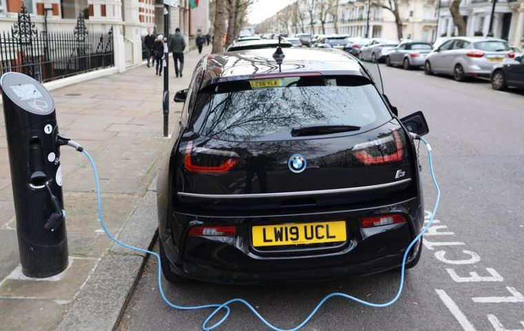Britain's step amounts to a victory for electric cars that if copied globally could hit the wealth of oil producers, as well as transform the car industry