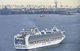Japan has quarantined the vessel carrying 3,711 people and was testing those onboard the Diamond Princess for the virus after a former passenger was diagnosed with the illness in Hong Kong.