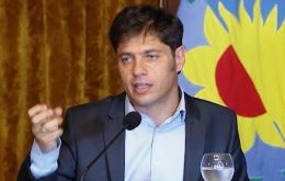 Provincial governor, Axel Kicillof, said the province would use recently received resources from the local market to make the principal and interest payments