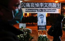"""Ophthalmologist Li Wenliang of our hospital, who was unfortunately infected during the fight against the pneumonia epidemic from the novel coronavirus, died at 2.58am on Feb 7, 2020 despite all-out e"